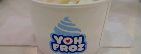 Yoh-gurt Froz is one of Uber Yogurt.