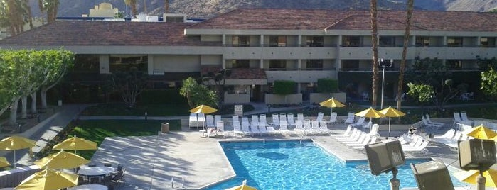 Hilton Palm Springs is one of Places I've been or go to..