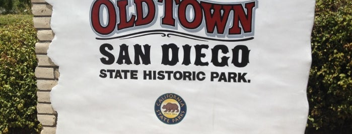 Old Town San Diego State Historic Park is one of USA San Diego.