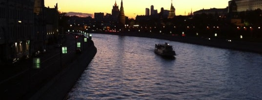 Большой Москворецкий мост is one of Москва.