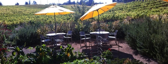 Lynmar Estate Winery is one of Gorgeous, Burgeoning Wine Road Gardens.