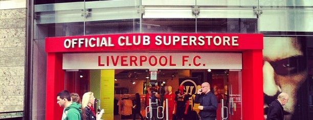Liverpool FC Official Club Store is one of All-time favorites in United Kingdom.
