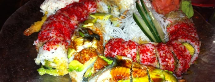 Sushi Blues Cafe is one of Welcome to Raleighwood! #visitUS.