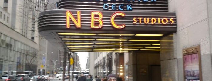 The Tour at NBC Studios is one of museums NYC.