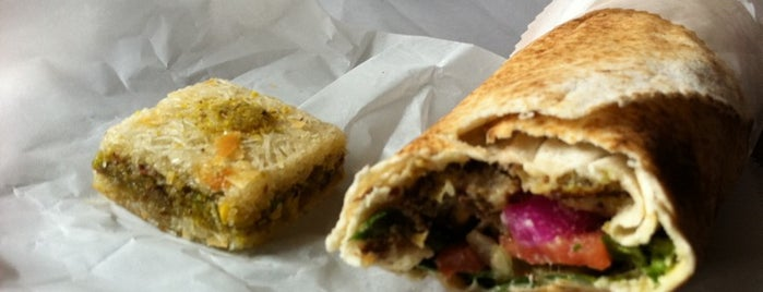 Homemade Falafel is one of food in queens.