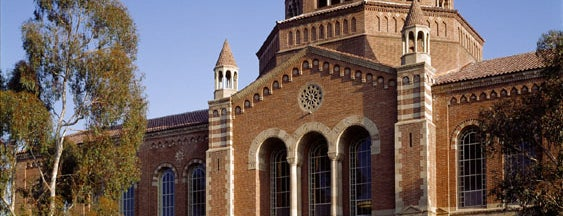 UCLA Powell Library is one of UCLA Bruins Badge.