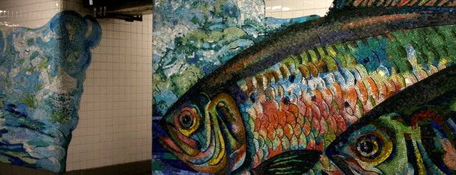 Essex & Delancey is one of Subway Art in NYC.