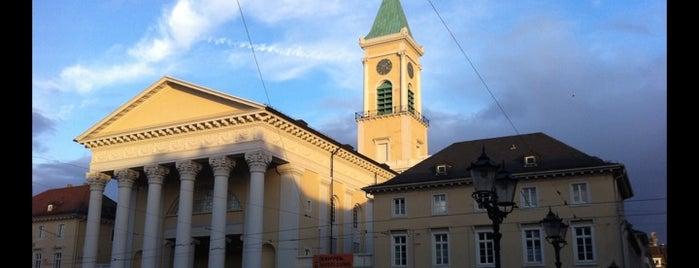 Evangelische Stadtkirche is one of Karlsruhe + trips.