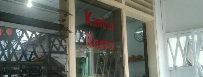 Kantin Restu is one of Greasy Spoon Badge.