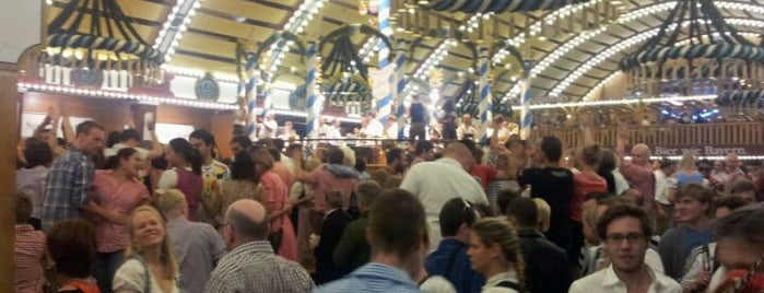 Löwenbräu-Festzelt is one of Oktoberfest all big tents todo list.