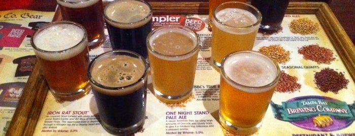 "Tampa Bay Brewing Company is one of ""Diners, Drive-Ins & Dives"" (Part 1, AL - KS)."