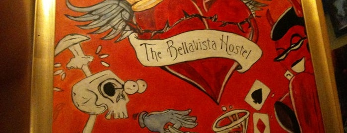 Bellavista Hostel is one of City Hero.