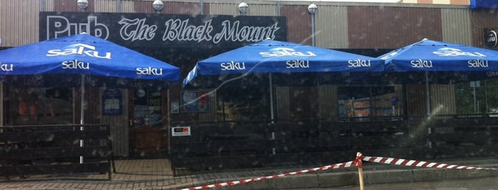 The Black Mount Pub is one of The Barman's bars in Tallinn.