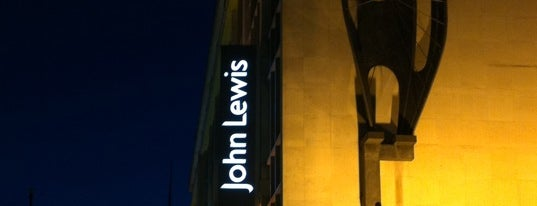 John Lewis is one of London as a local.