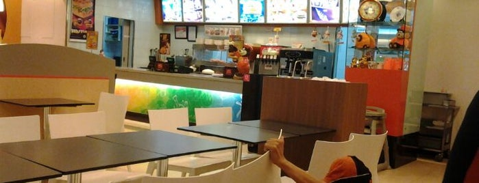 A&W is one of Trans Studio Mall Makassar.