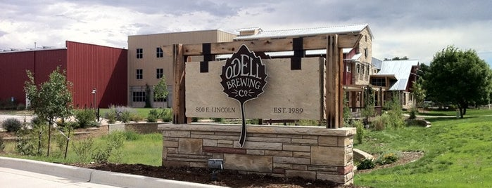 Odell Brewing Company is one of Colorado Microbreweries.