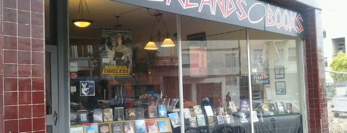Borderlands Books is one of San Francisco Adventure Bucket list.