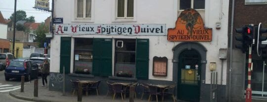 Au Vieux Spijtigen Duivel is one of Best burgers in Brussels.