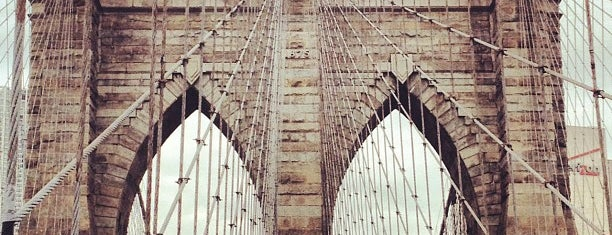 Brooklyn Bridge is one of USA Trip 2013 - New York.