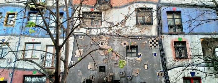 Hundertwasserhaus is one of Vienna, Austria - The heart of Europe - #4sqCities.