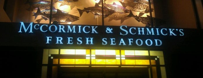 McCormick and Schmicks is one of McCormick & Schmick's.