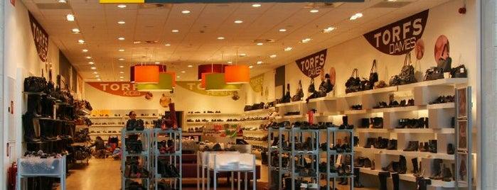 Schoenen Torfs is one of Shoppen in Kortrijk.