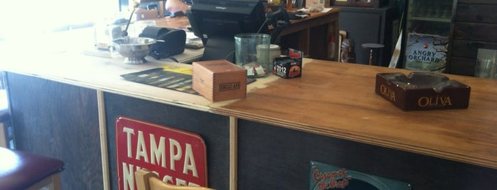 Tobacco Road Coffee & Smoke Shop is one of Emilio Cigars Retailers.