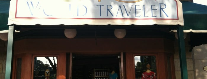 World Traveler (Package Pick-Up) is one of Walt Disney World - Epcot.