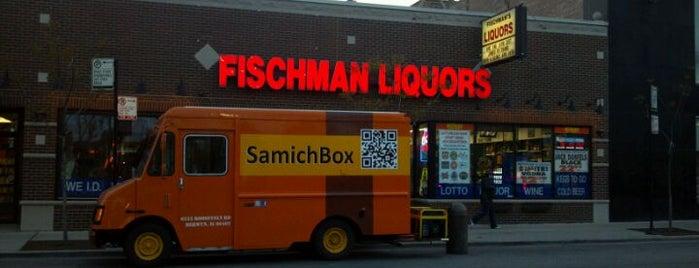 Fischman Liquors & Tavern is one of 2013 Chicago Craft Beer Week venues.
