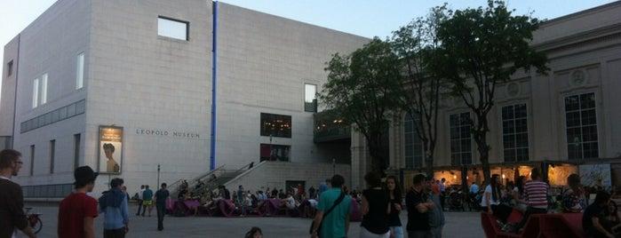 Leopold Museum is one of StorefrontSticker #4sqCities: Vienna.