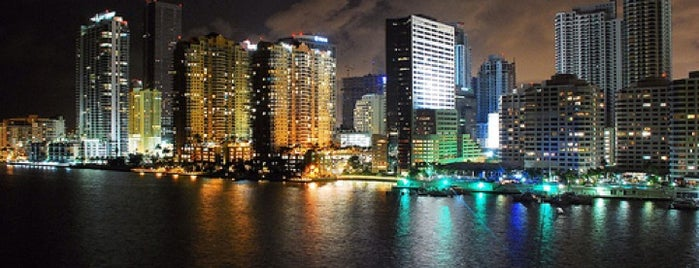Conrad Miami is one of The 15 Best Places with Scenic Views in Miami.