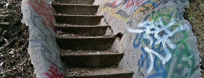 Rustic Canyon Park Murphy Ranch Stairway is one of SoCal Shops, Art, Attractions.