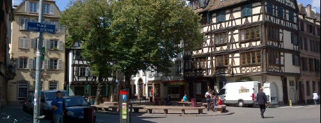 Place Saint-Étienne is one of Strasbourg.