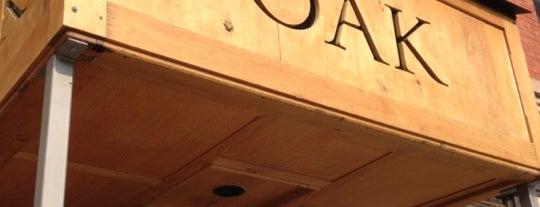 OAK at fourteenth is one of 5280 Best New Restaurants 2013.