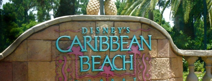 Disney's Caribbean Beach Resort is one of Disney Adventure.