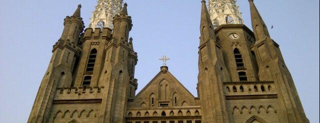 Gereja Katolik Katedral Jakarta is one of eR!ka_Dianwitra.