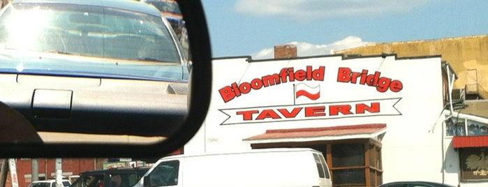 Bloomfield Bridge Tavern is one of Experience Bloomfield!.