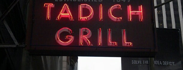 Tadich Grill is one of San Francisco.
