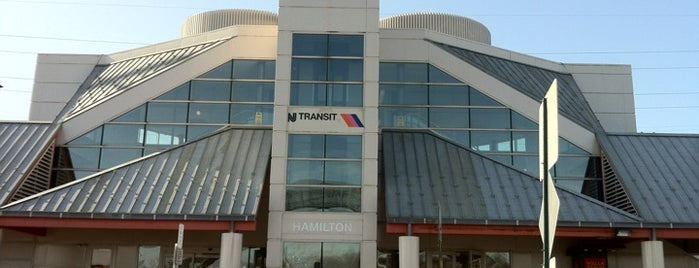 NJT - Hamilton Station (NEC) is one of New Jersey Transit Train Stations I Have Been To.