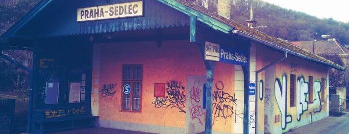 Železniční zastávka Praha-Sedlec is one of Železniční stanice ČR: P (9/14).
