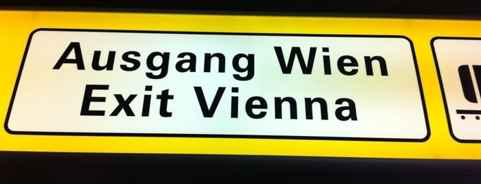 Vienna International Airport (VIE) is one of I Love Airports!.