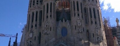 Sagrada Família is one of ToDo Barcelona.
