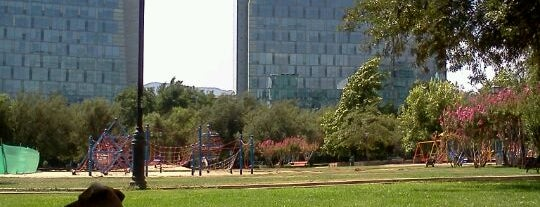 Parque Araucano is one of Santiago, Chile #4sqCities.