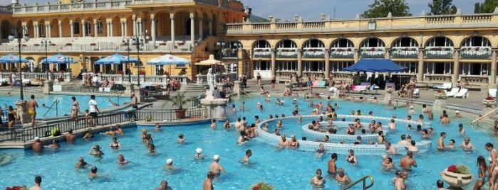 Лечебная купальня Сечени is one of 50 Best Swimming Pools in the World.