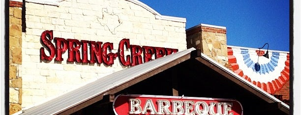 Spring Creek Barbeque is one of Must-visit Food in Mansfield.