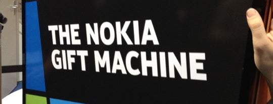 Nokia Gift Machine @ App Campus – Disrupt San Fran is one of Barcelona.