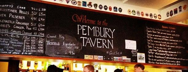 Pembury Tavern is one of Hackney Pizza, yeah!.