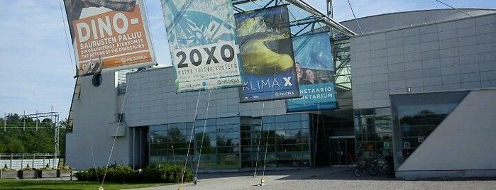 Tiedekeskus Heureka / Finnish Science Center is one of Europa.