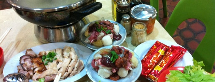 Golden Mile Thien Kee Steamboat Restaurant is one of Food.