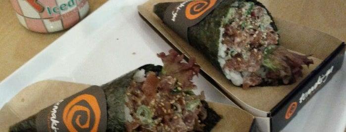 Temaki-ya is one of Sandwich, hamburguesas y otras cosas rápidas.